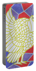 Turkey On Stained Glass Portable Battery Charger