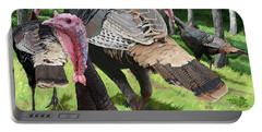 Turkey Tails Portable Battery Charger