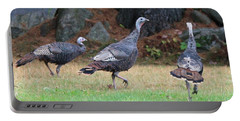 Turkey Trio Portable Battery Charger