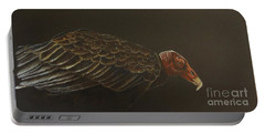 Turkey Vulture Portable Battery Charger by Laurianna Taylor