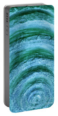 Portable Battery Charger featuring the digital art Turmoil by Wendy Wilton