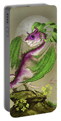 Turnip Dragon Portable Battery Charger by Stanley Morrison
