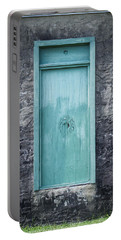 Turquoise Door Portable Battery Charger