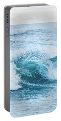 Portable Battery Charger featuring the photograph Turquoise Formations by Parker Cunningham