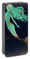 Turquoise Mermaid Portable Battery Charger