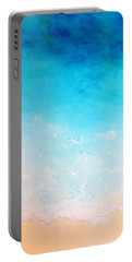 Turquoise Waters Portable Battery Charger by Karyn Robinson
