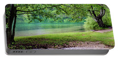 Turquoise Zen - Plitvice Lakes National Park, Croatia Portable Battery Charger