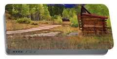 Turrett - Colorado Ghost Town Portable Battery Charger