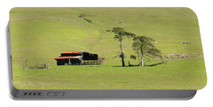 Portable Battery Charger featuring the photograph Turri Road - San Luis Obispo Ca by Art Block Collections