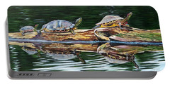 Turtle Family Portable Battery Charger