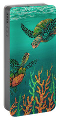 Turtle Love Portable Battery Charger