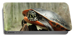 Turtle Neck Portable Battery Charger by David Stasiak