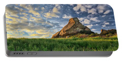 Turtle Rock At Sunset 2 Portable Battery Charger