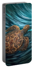 Turtle Wave Deep Blue Portable Battery Charger