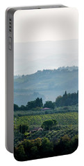Portable Battery Charger featuring the photograph Tuscan Afternoon by Jean Haynes