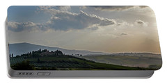 Portable Battery Charger featuring the photograph Tuscan Hillside by Jean Haynes