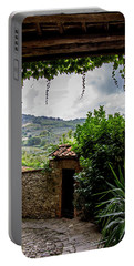 Portable Battery Charger featuring the photograph Tuscan Street View by Jean Haynes