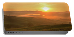 Tuscan Sunrise Portable Battery Charger by Yuri Santin