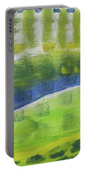 Tuscany Garden Portable Battery Charger by Don Koester