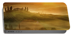 Tuscany In Golden Portable Battery Charger