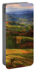 Tuscany, Italian Wineyards  Portable Battery Charger