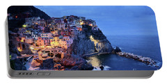 Tuscany Like Amalfi Cinque Terre Evening Lights Portable Battery Charger