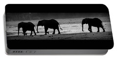 Tusks At Dusk Portable Battery Charger