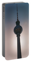 Tv Tower Berlin Portable Battery Charger