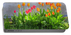 Twenty-five Tulips Portable Battery Charger