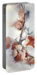 Portable Battery Charger featuring the photograph Twigged by Pennie  McCracken