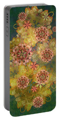 Twilight Blossom Bouquet Portable Battery Charger