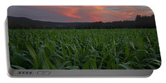 Twilight Cornfield Portable Battery Charger