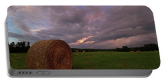 Twilight Hay Bale Portable Battery Charger