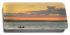 Twilight In Puget Sound  Portable Battery Charger