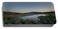 Twilight In The Desert Portable Battery Charger