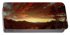 Twilight In The Wilderness Portable Battery Charger