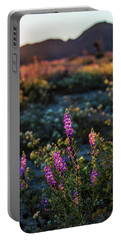 Twilight Lupine Portable Battery Charger