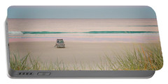 Twilight On The Beach Portable Battery Charger