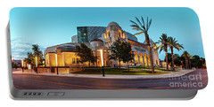 Twilight Panorama Of Tobin Center For The Performing Arts - Downtown San Antonio Texas Portable Battery Charger