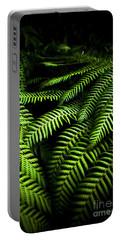Twilight Rainforest Fern  Portable Battery Charger