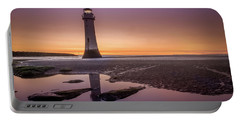 Twilight Reflection, New Brighton Lighthouse Portable Battery Charger