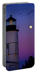 Twilight At Sandy Neck Lighthouse Portable Battery Charger