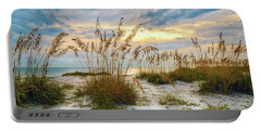 Twilight Sea Oats Portable Battery Charger