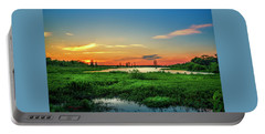 Portable Battery Charger featuring the photograph Twilights Arrival by Marvin Spates
