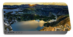 Twin Lakes Sunset Portable Battery Charger