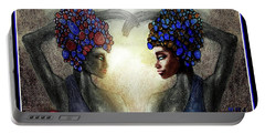 Twin Sisters Portable Battery Charger