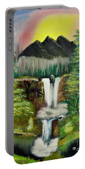 Twin Waterfalls Portable Battery Charger