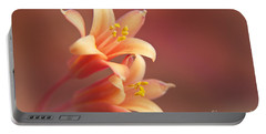 Twin Yucca Flowers Portable Battery Charger