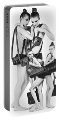 Twins Model Agency Portable Battery Charger