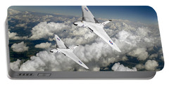 Two Avro Vulcan B1 Nuclear Bombers Portable Battery Charger